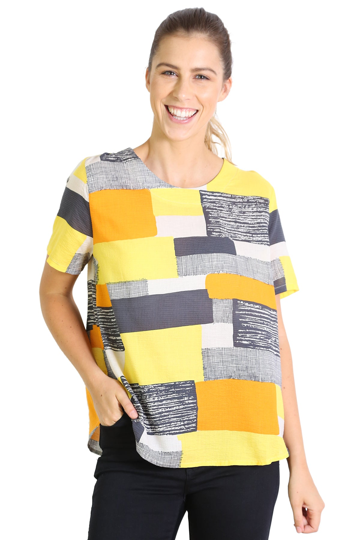 Southbank Seer Top Yellow