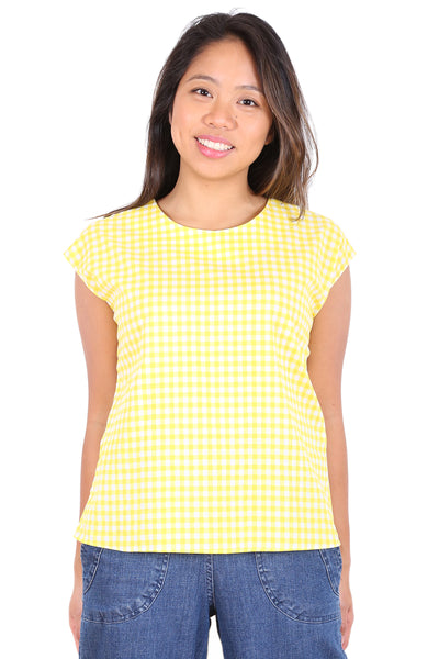 Sunshine Cotton Tee Yellow