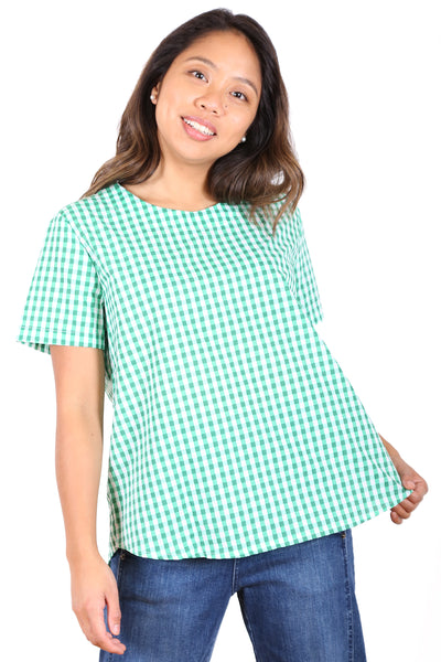 Sunshine Cotton Top Green