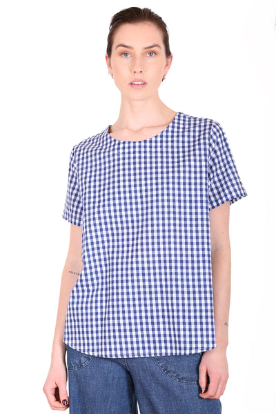 Sunshine Cotton Top Blue