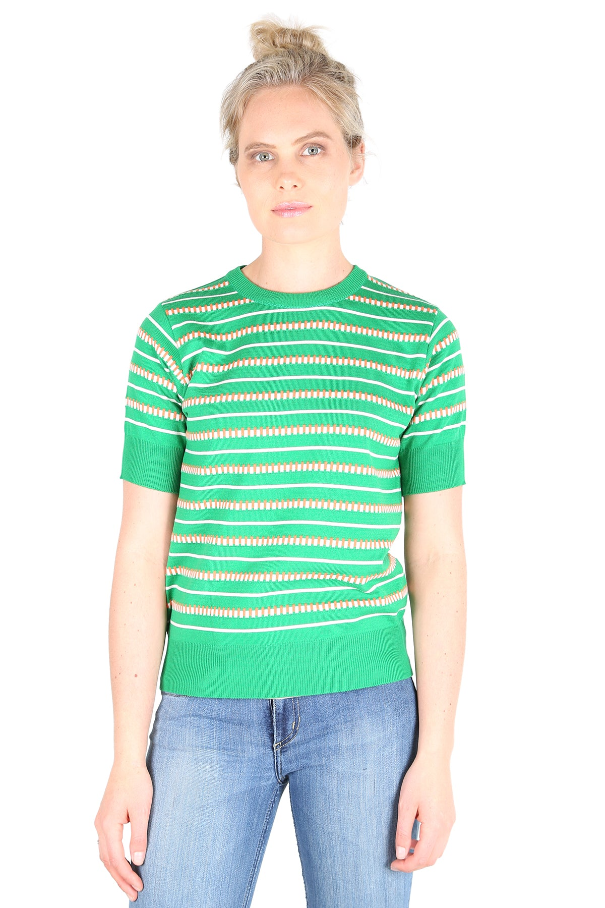 Tiffany Knitted Top  Green