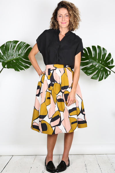 TIME AFTER TIME Midi Skirt