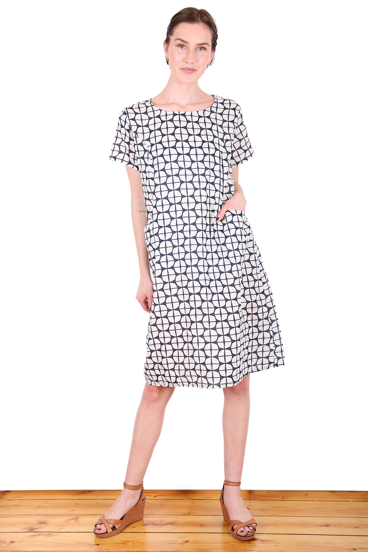 Trentham Seer Shift Dress