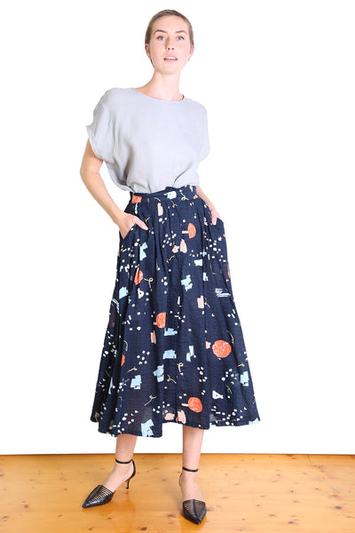 Window Slice Seer Skirt