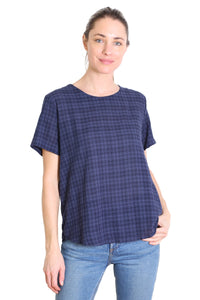 Thelma Seer Top Navy