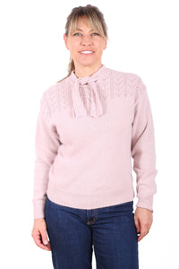 Soul Train Tie Knit Powder Pink