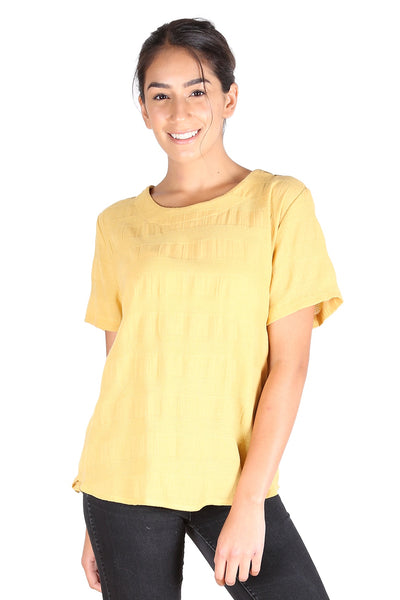 Cromwell Textured Top Yellow
