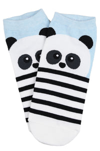 Phil the Panda Cotton Ankle Socks