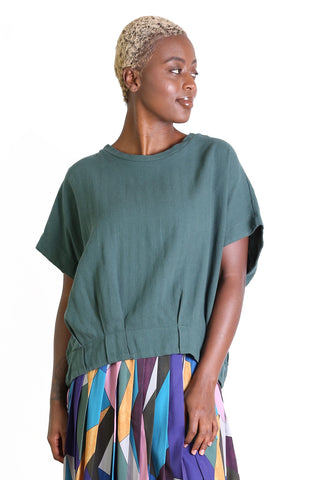 Billie Jean Top Moss Green