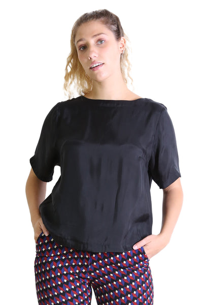 Kitty Top Jet Black