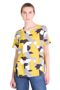 Cutting Edge Seer Top Mustard Yellow