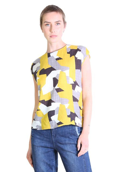 Cutting Edge Seer Tee Mustard Yellow