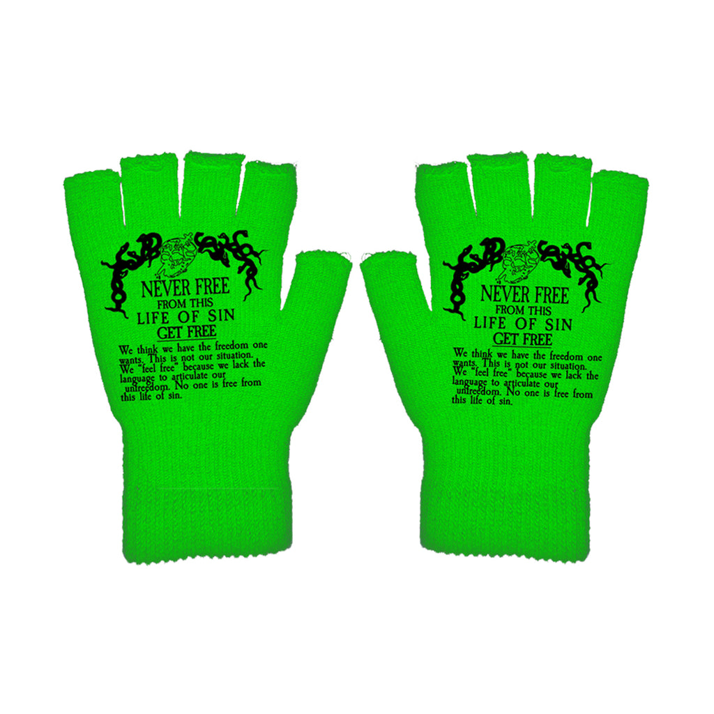 TOXIC Gloves (Green) - Get Free Co