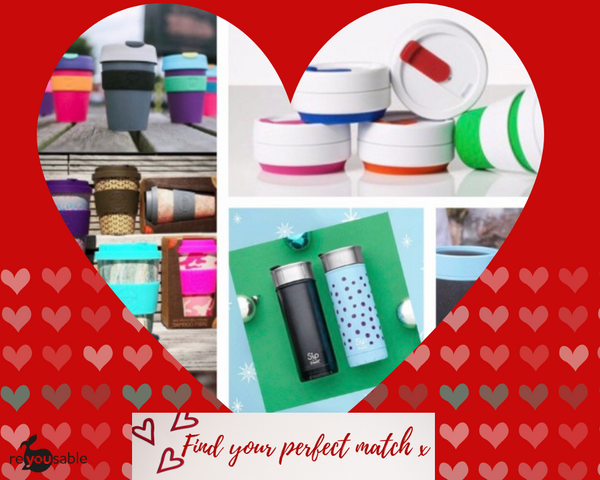 Find your perfect reusable coffee cup partner