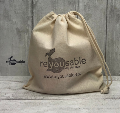 Reyousable 4D pouch reusable cup carry bag
