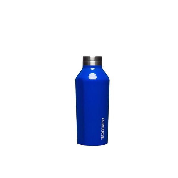 Corkcicle Reusable Small Canteen: Gloss Cobalt