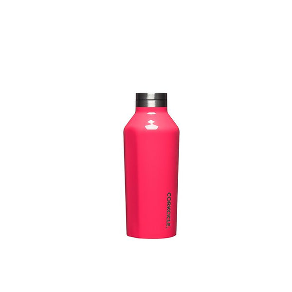 Corkcicle Reusable Small Canteen: Gloss Flamingo