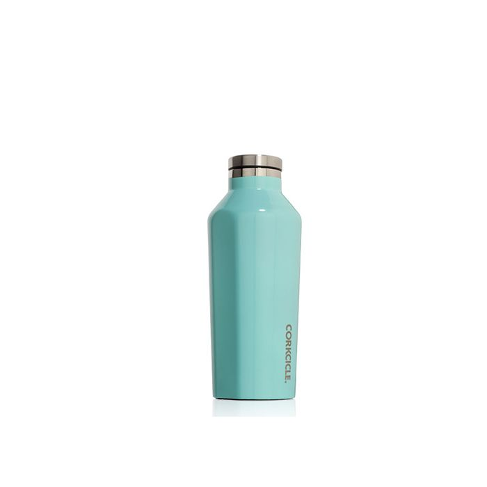 Corkcicle Reusable Small Canteen: Gloss Turquoise