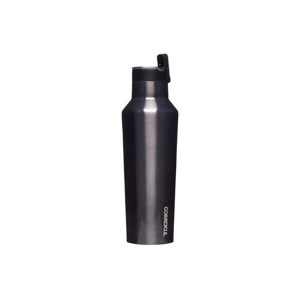 Corkcicle Reusable Large Sports Canteen: Gunmetal