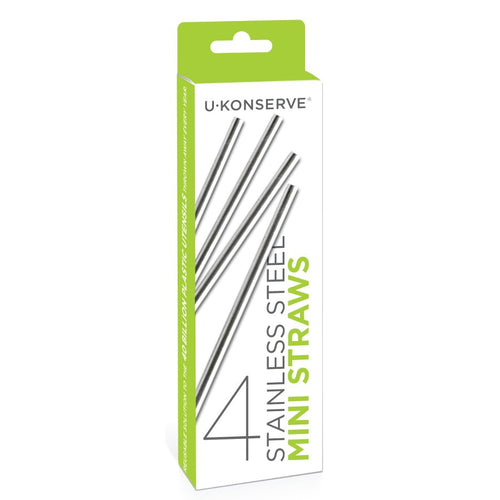 Stainless Steel Mini Cocktail Drinking Straws