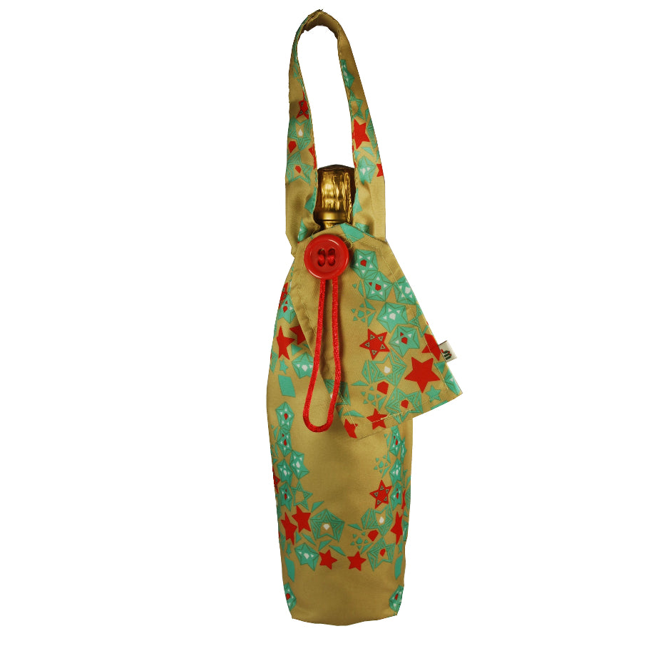 Wrag Wrap Bottle Bag: Egg Nog
