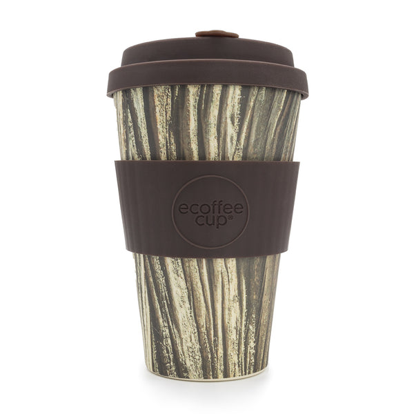 Stein Und Holz Ecoffee Reusable Cup Baumrinde 14oz 400ml