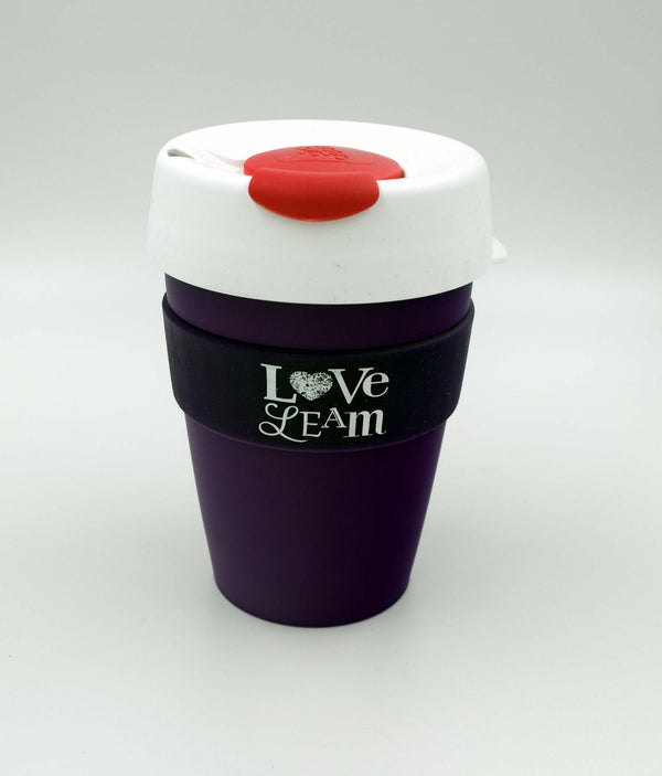 Love Leam KeepCup Original Medium - Pink/White/Purple