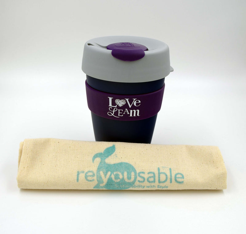 Love Leam KeepCup Original Medium - Purp/Grey/Navy