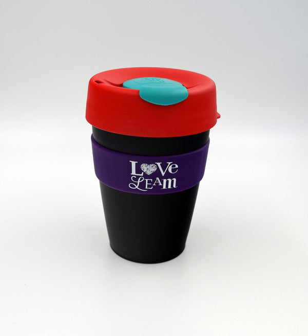 Love Leam KeepCup Original Medium - Turq/Red/Aub