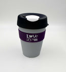 Love Leam KeepCup Original Medium - White/Navy/Grey