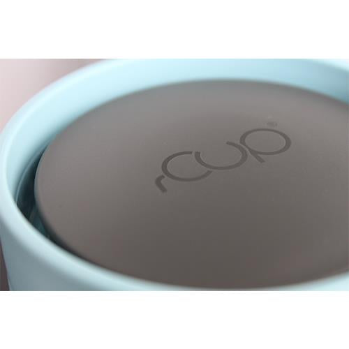 rCUP Reusable 100% Leakproof Cup - Black and Teal