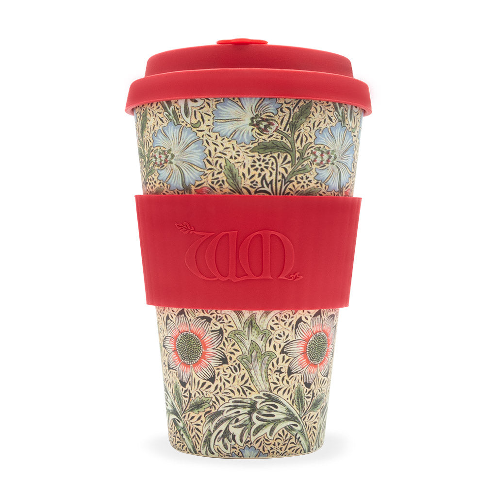 Limited Edition William Morris ecoffee Cup: Corncockle