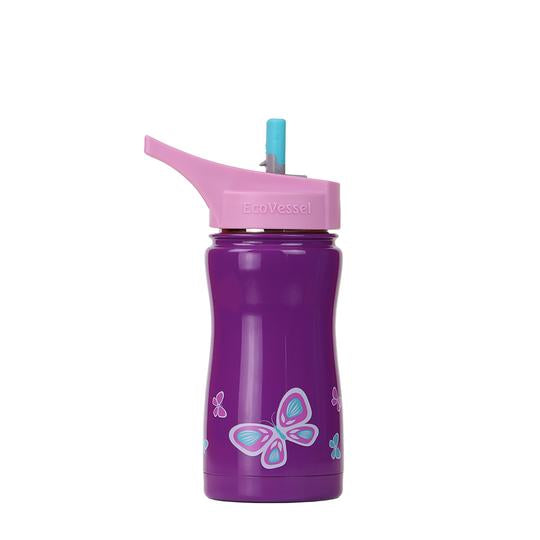 Kids Reusable Insulated Bottle - Butterflies