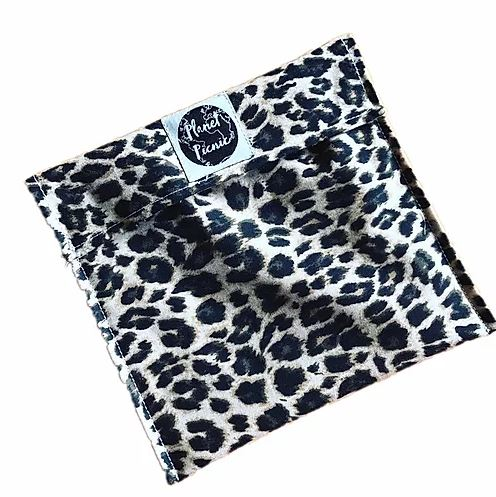 Planet Picnic Reusable Snack/Sandwich Bag: Leopard