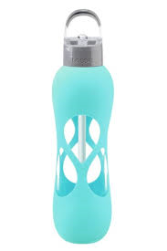 Bobble Pure Reusable Glass Bottle: Mint