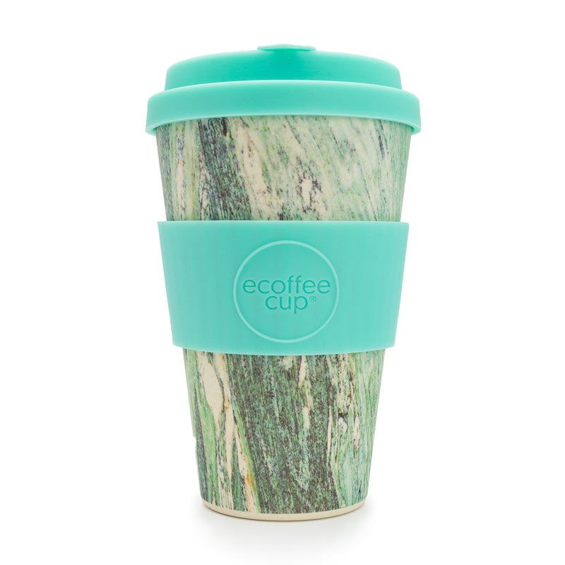 Stein Und Holz Ecoffee Reusable Cup Marmo Verde 14oz 400ml