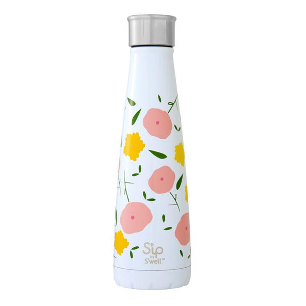 S'ip by S'well Large Reusable Bottle: Poppy Culture