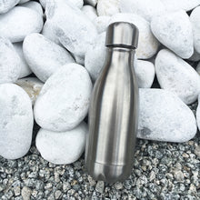 Load image into Gallery viewer, Qwetch Small Bottle - Brushed Steel