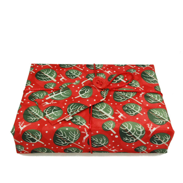 Wrag Wrap Reusable Crackle Wrap: Red Berry
