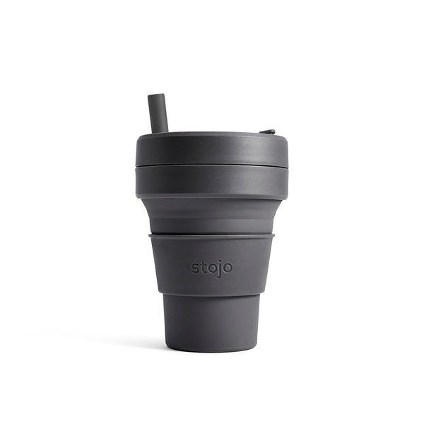 Stojo Brooklyn Biggie 16oz Cup: Carbon