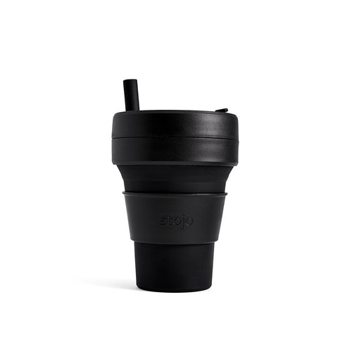 Stojo Brooklyn Collection Biggie 16oz Cup: Ink