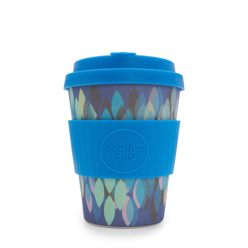 Ecoffee Reusable Cup Medium Sakura Blue 12oz 350ml
