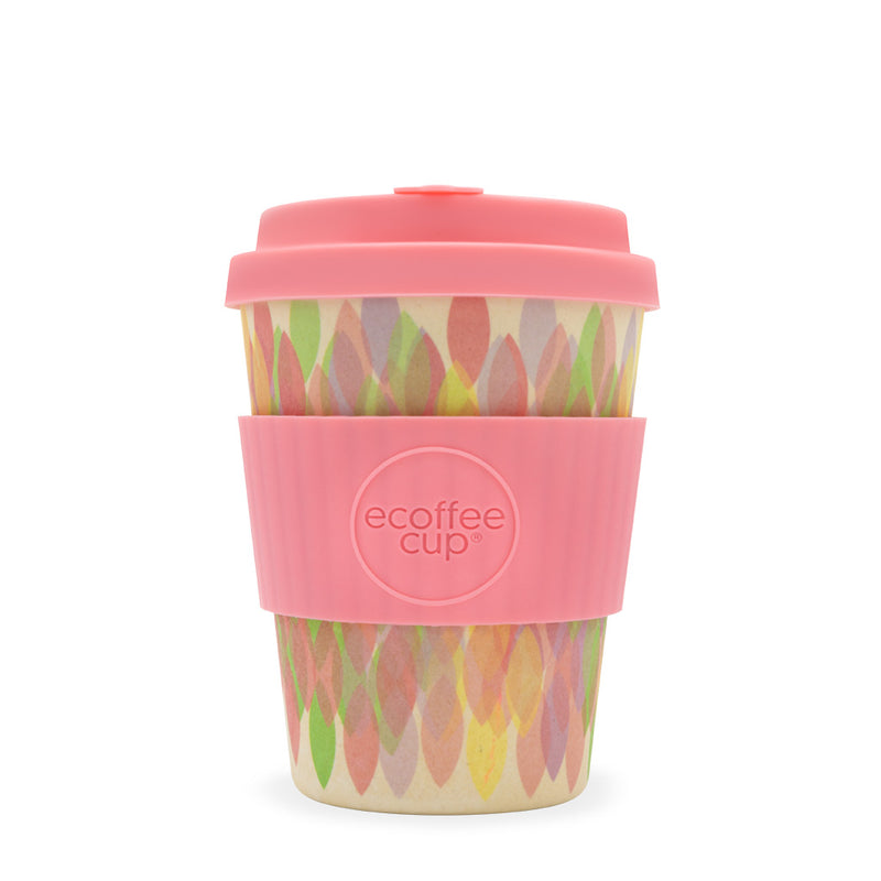 Ecoffee Reusable Cup Medium Sakura Pink 12oz 350ml