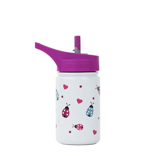 Kids Reusable Bottle - Ladybugs