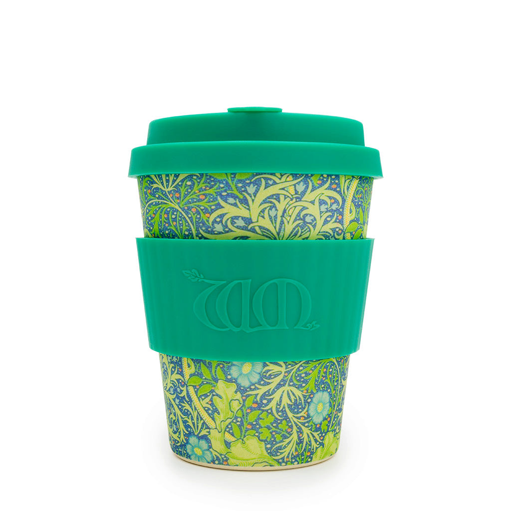 Limited Edition William Morris ecoffee Cup: Seaweed Marine