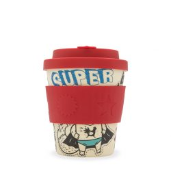 Ecoffee Reusable Cup Small Boo Cup Superhero Fuel 8oz 250ml