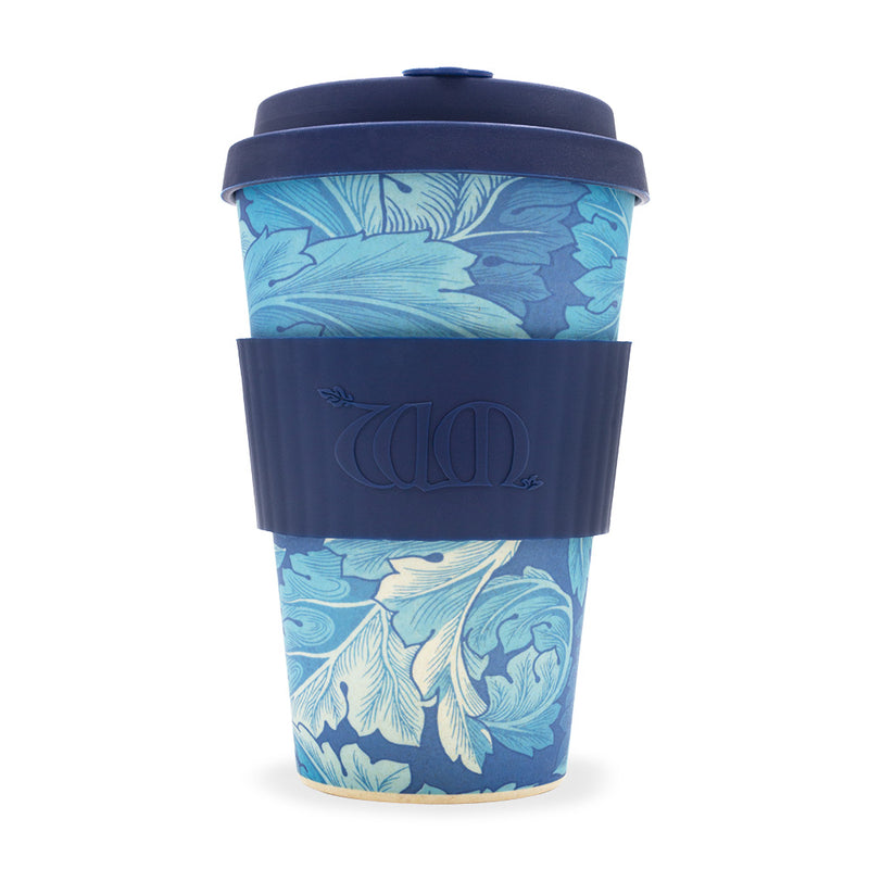 William Morris Ecoffee Reusable Cup: Acanthus 14oz 400ml