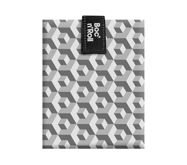 Boc 'n' Roll Reusable Sandwich Wrap : Tiles Black