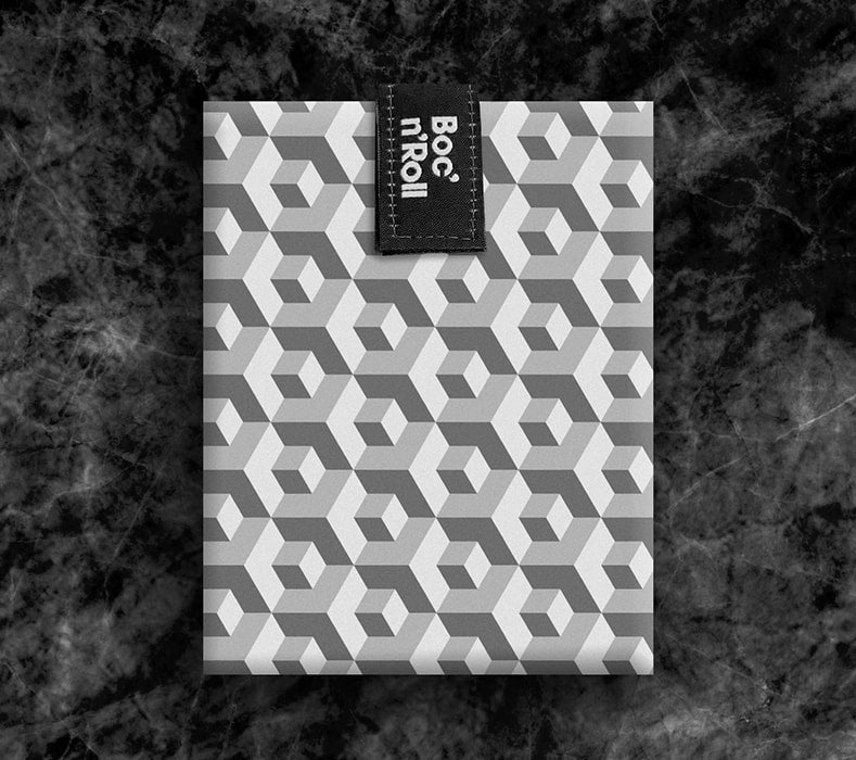 Boc 'n' Roll Sandwich Wrap : Tiles Black