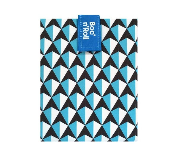 Boc 'n' Roll Reusable Sandwich Wrap : Tiles Blue